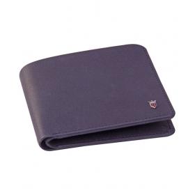Louis Philippte Leather Blue Fashion Short Wallet