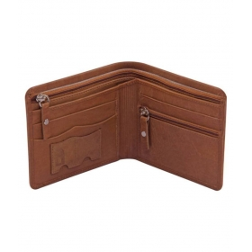 Louis Philippte Leather Brown Fashion Regular Wallet
