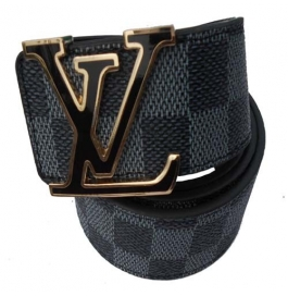 B.s.chadha Group Men Formal Black Genuine Leather Belt
