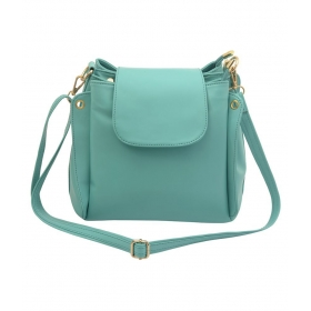 Bags Green P.u. Sling Bag