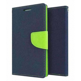 Lyf Flame 1 Flip Cover By G-mos - Blue