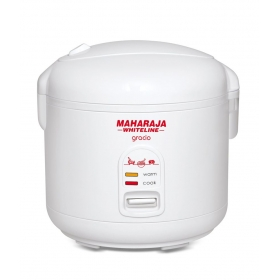 Maharaja Whiteline 1.8 Ltr Rice Cooker Gracio Electric Cooker