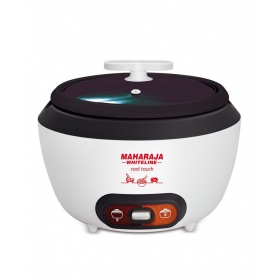 Maharaja Whiteline 1.8 Ltr Rice Cooker Cool Touch Electric Cooker