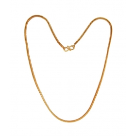 Collection Gold Plated Foxtail Women's Chain
