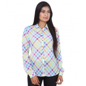 Multi Color Polyester Full Sleeves Shirts