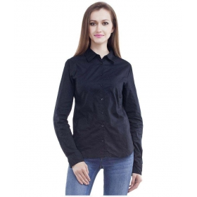 Collections Black Cotton Shirts