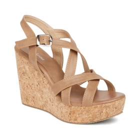 Tan Wedges Heels