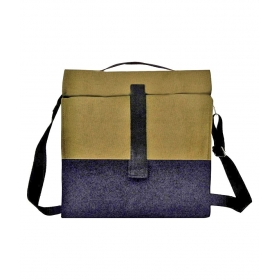 Marine Pearl Canvas Lunch Bag
