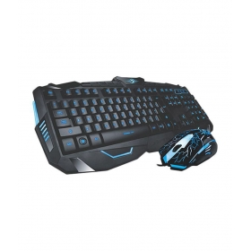 Marvo Black Gaming Keyboard With Gaming Mouse