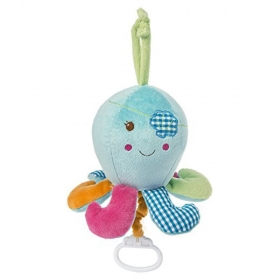 Musical Pull Toy, Baby Buccaneer Octopus