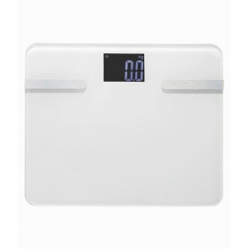 Bluetooth Connection Ultrathin Mini Smart Weight Scale Body With Lcd Display For Ios & Android Rt-s1 White