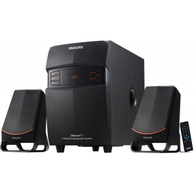 Philips In-mms 2550f/94 2.1 Multimedia Speaker - Black