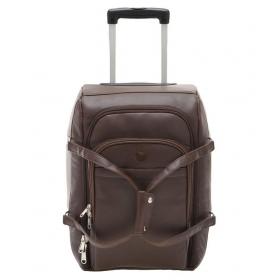 Mboss Brown Solid Duffle Bag