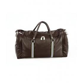 Mboss Faux Leathertravelling Duffel Bag Brown 57 Cm- 68 Cm