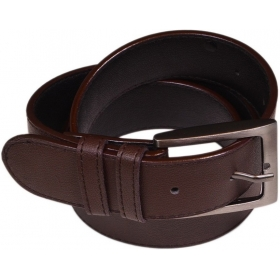 Men Brown Genuine Leather Belt