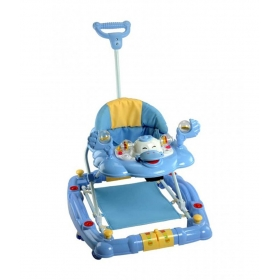 Baby Walker With Rocker Function 2-in-1 Blue
