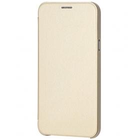 Mercator Flip Cover For Samsung Galaxy A8 - Golden