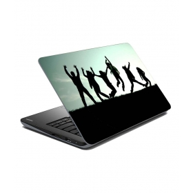 Jumping People Laptop Skin