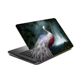 Peacock Laptop Skin - 15x10 Inches