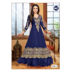 Karishma Kapoor Eliza Mahaveer Fashion Original Semi Stitched Salwar Kameez