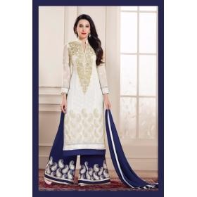 Karishma Kapoor Georgette Semi Stitched Salwar Suit