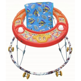 Multicolour Plastic Baby Walker