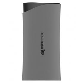 Micromax Power Bank 5200mah Grey