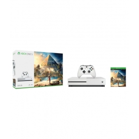 Microsoft Xbox One S 500 Gb Assassin's Creed Bundle With Additional Controller & The Crew, Steep Games (digital Codes) (white)