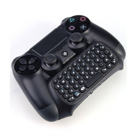 Microware Wireless Keyboard For Ps4 Controller - Black