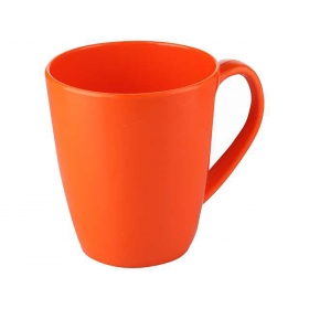 Milk Mug 360 Ml Orange