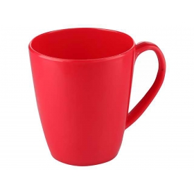 Milk Mug 360 Ml Red