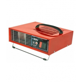 Min Max 2000 Hot Blower Heat Convector Red