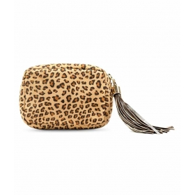 Chase Brown Zipped Pouch