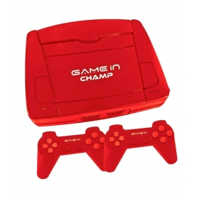Mitashi Game In Champ Gaming Console With In Built Games-red
