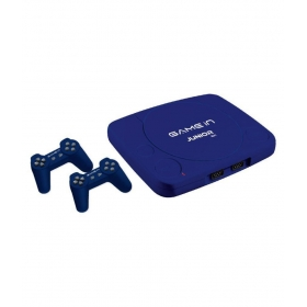 Mitashi Game In Junior Nx Gaming Console With 300 In Bulit Games-blue