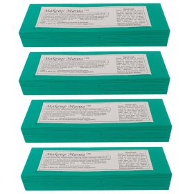 Makeup Mania Hair Removal Waxing Strips - Green 280 Pcs