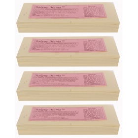 Makeup Mania Hair Removal Waxing Strips - Ivory 280 Pcs