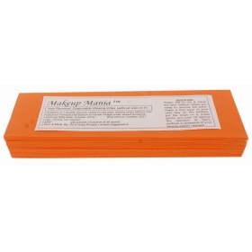 Makeup Mania Hair Removal Waxing Strips - Orange 70 Pcs
