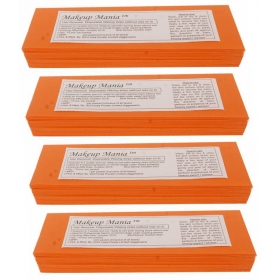 Makeup Mania Hair Removal Waxing Strips - Orange 280 Pcs
