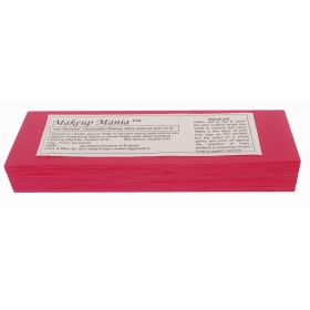 Makeup Mania Hair Removal Waxing Strips - Magenta 70 Pcs