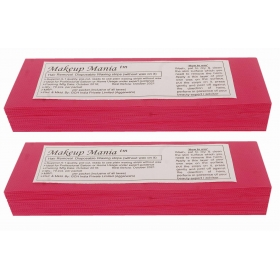 Makeup Mania Hair Removal Waxing Strips - Magenta 140 Pcs