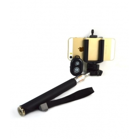 Selfie Stick With Bluetooth Shutter - Android And Ios Phones