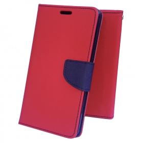 Moblo Flip Cover(red) For Samsung Galaxy J7