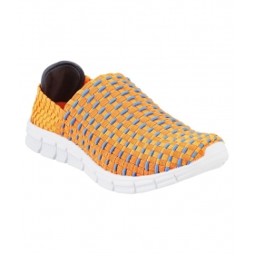 Orange Casual Shoes