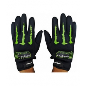 Monster - Riding Gloves - Black