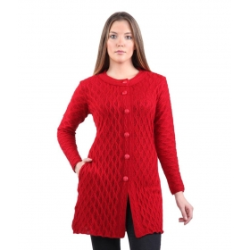 Red Woollen Waistcoats