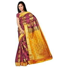 Kanchipuram Fancy Art Silk Saree