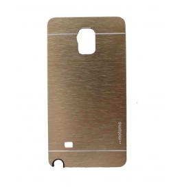 Motomo Back Cover For Samsung Galaxy Note4 Gold