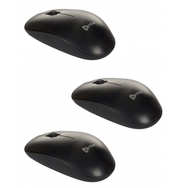 Enter E-w57 Optical Wireless Mouse (black) Combo Of 3