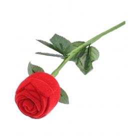 Rose Flower Ring Case Gift Box